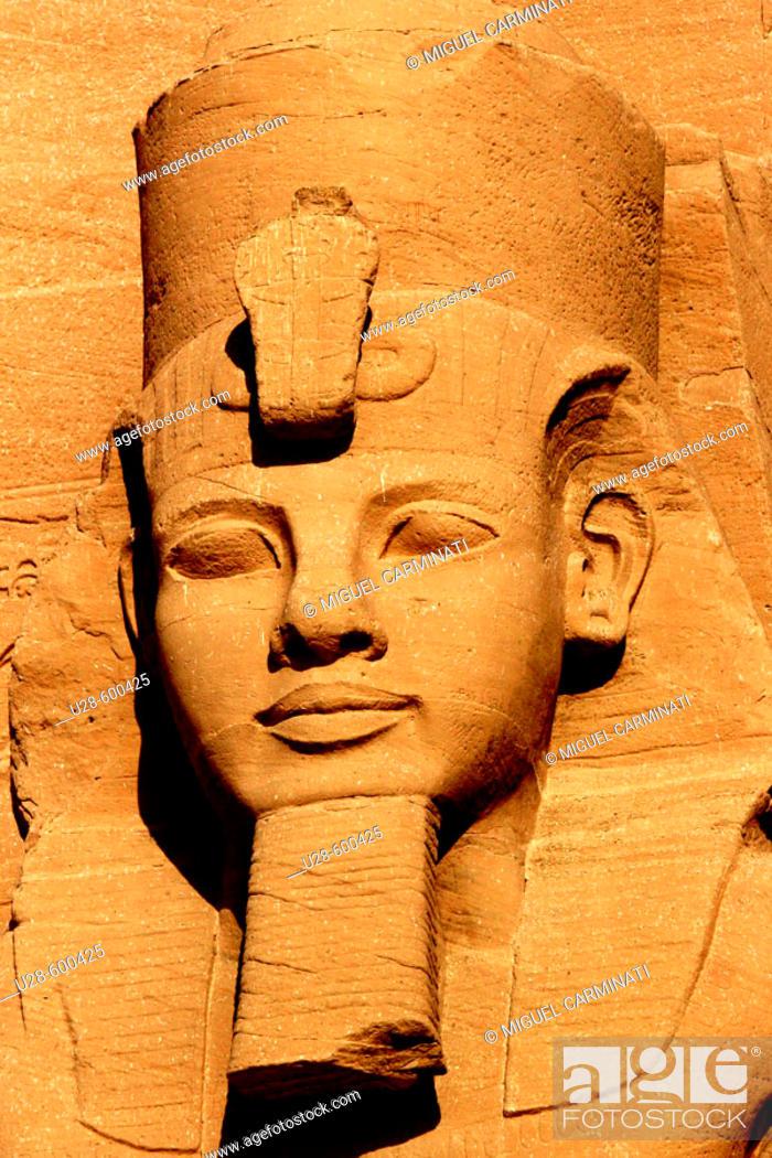 Stock Photo: Abu Simbel, Egypt.