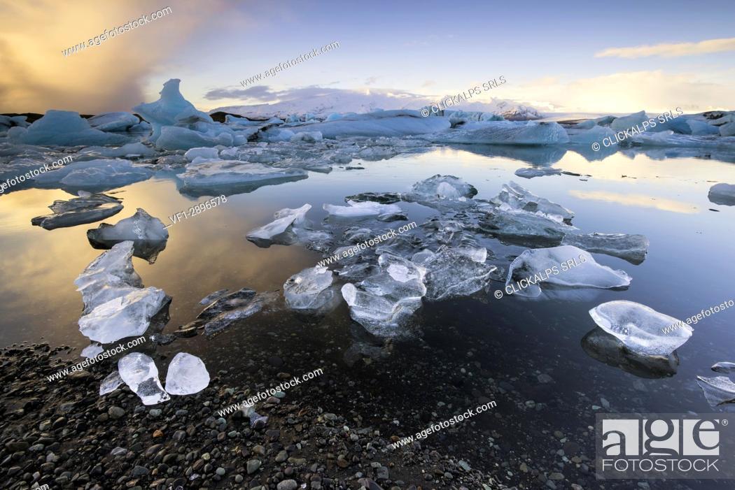 Stock Photo: Jokulsarlon - Iceland.