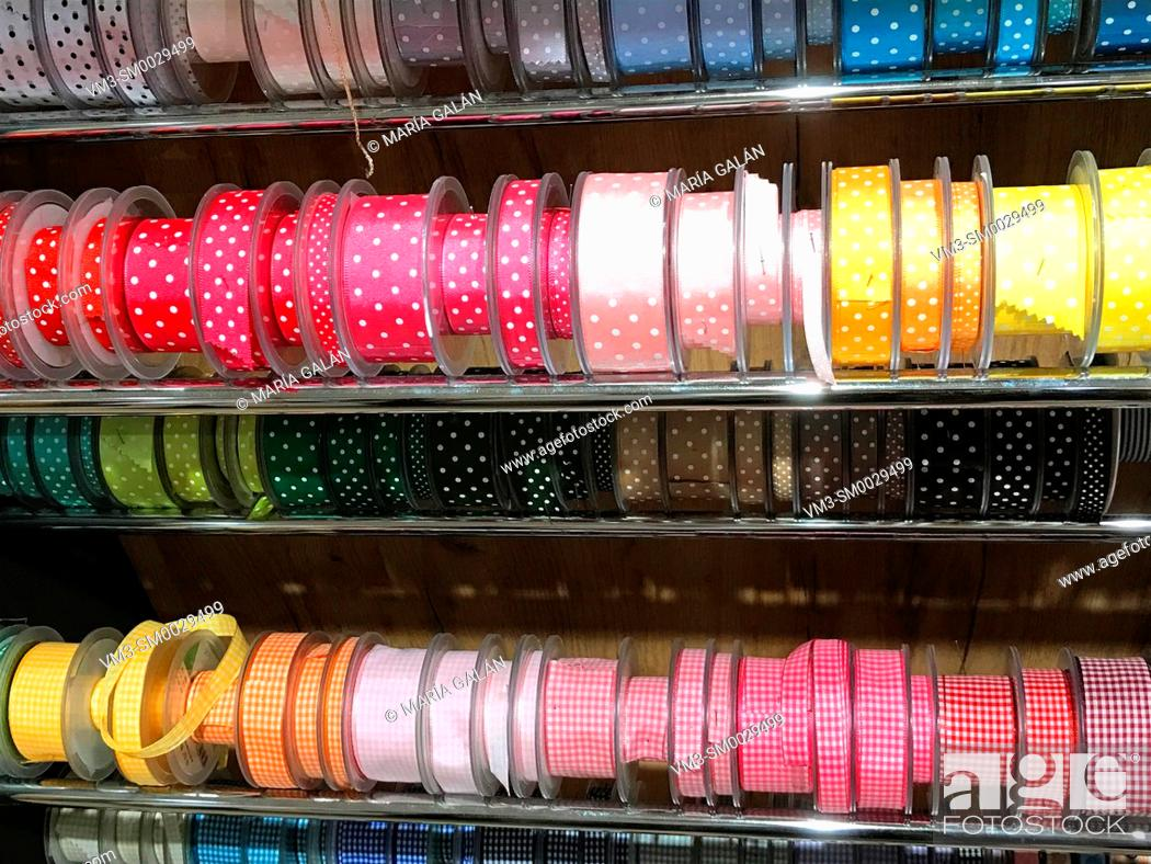 Stock Photo: Colorful ribbons.