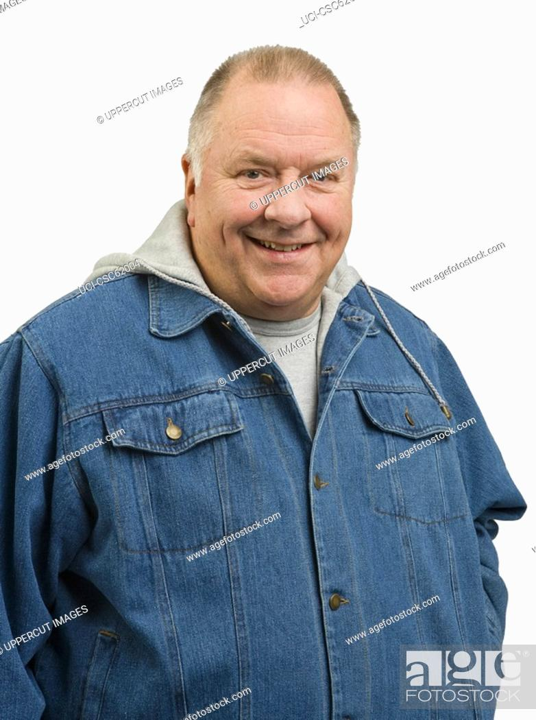 Stock Photo: Portrait of senior man.