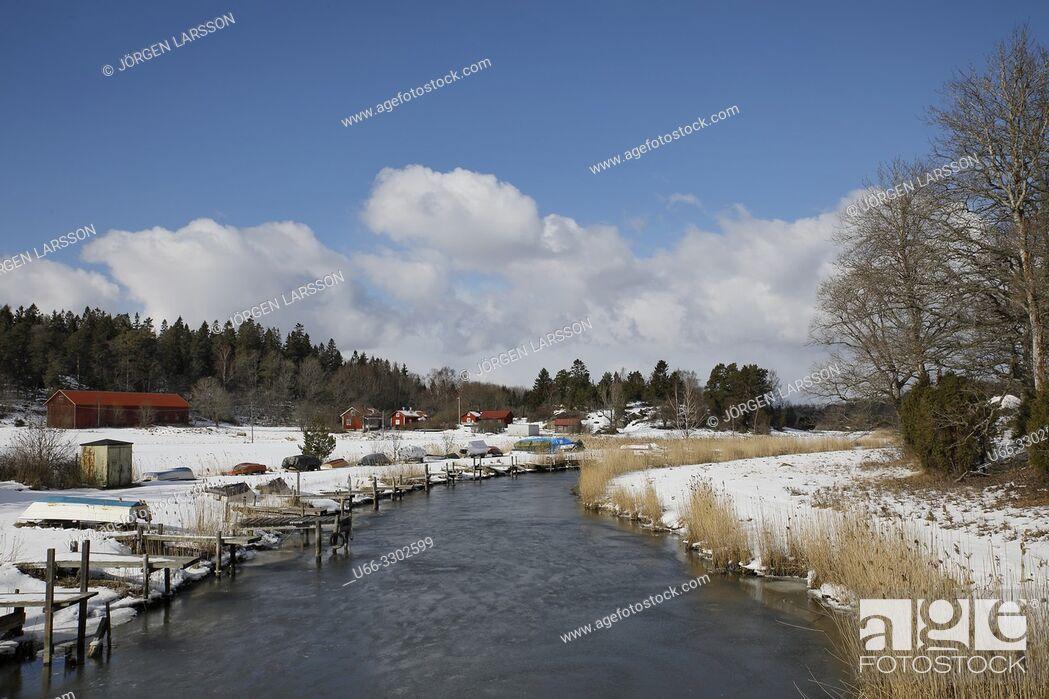 Stock Photo: Morko, Sodermanland, Sweden.
