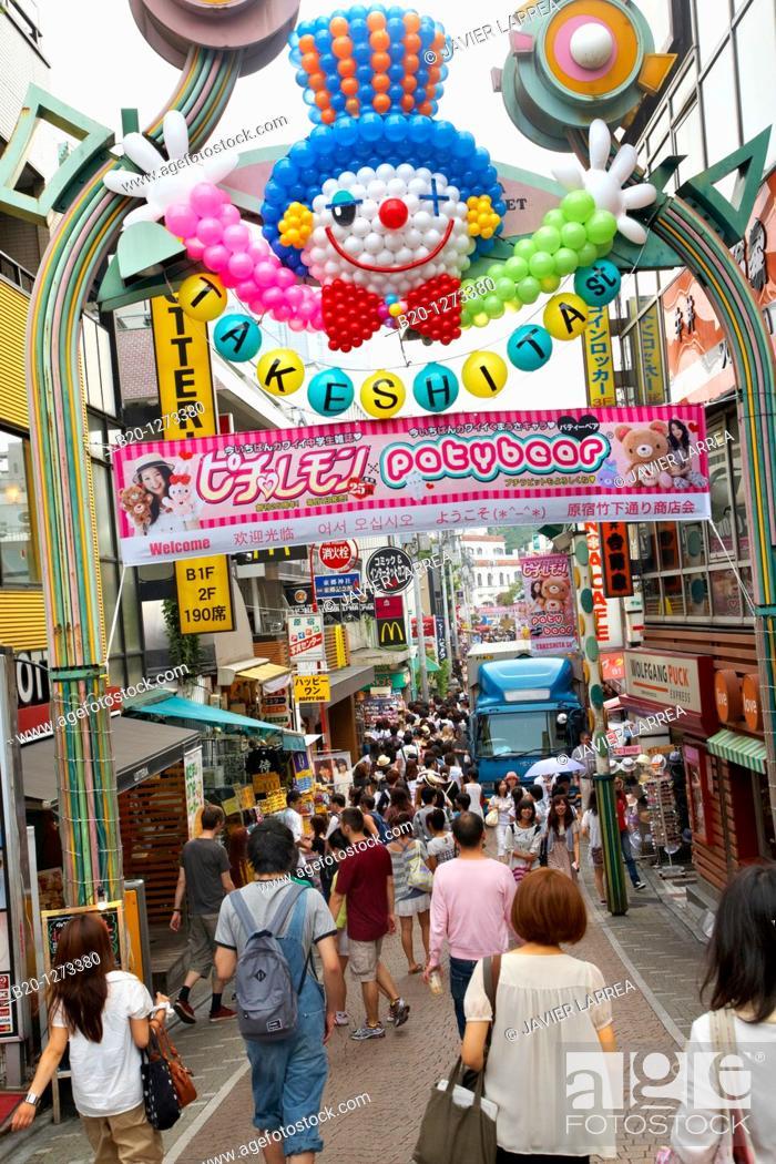 Image result for harajuku takeshita