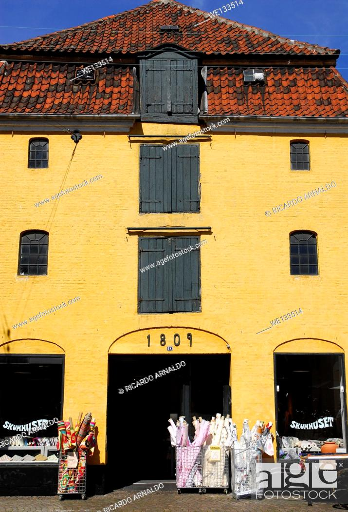 Stock Photo: The Bakery in Arhus, Denmark.