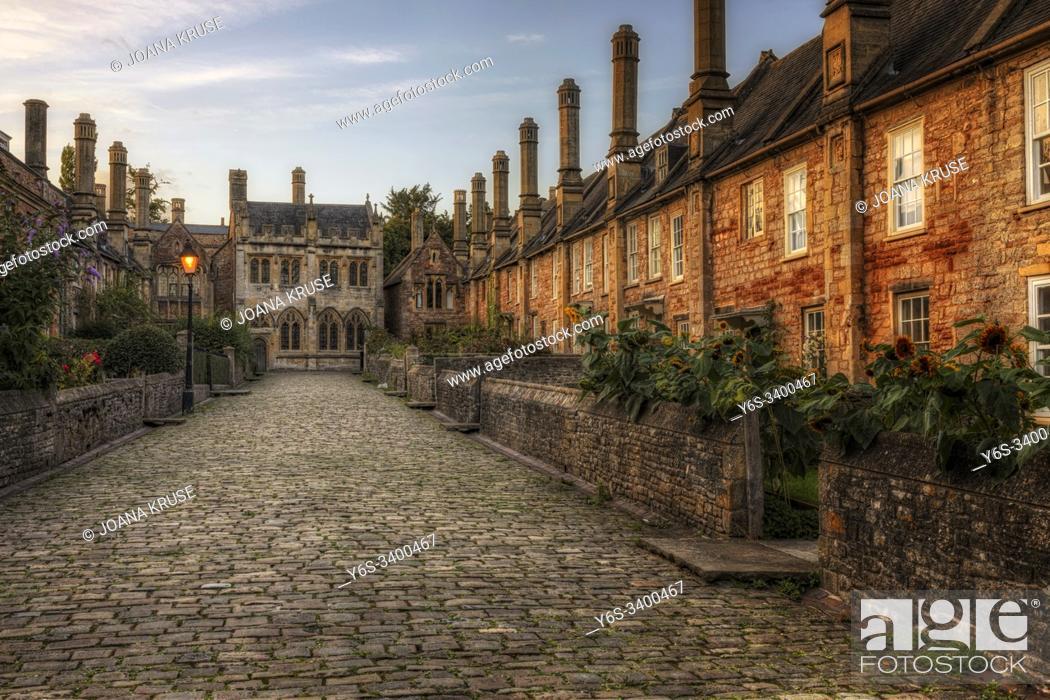 Stock Photo: Wells, Sommerset, England, United Kingdom, Europe.