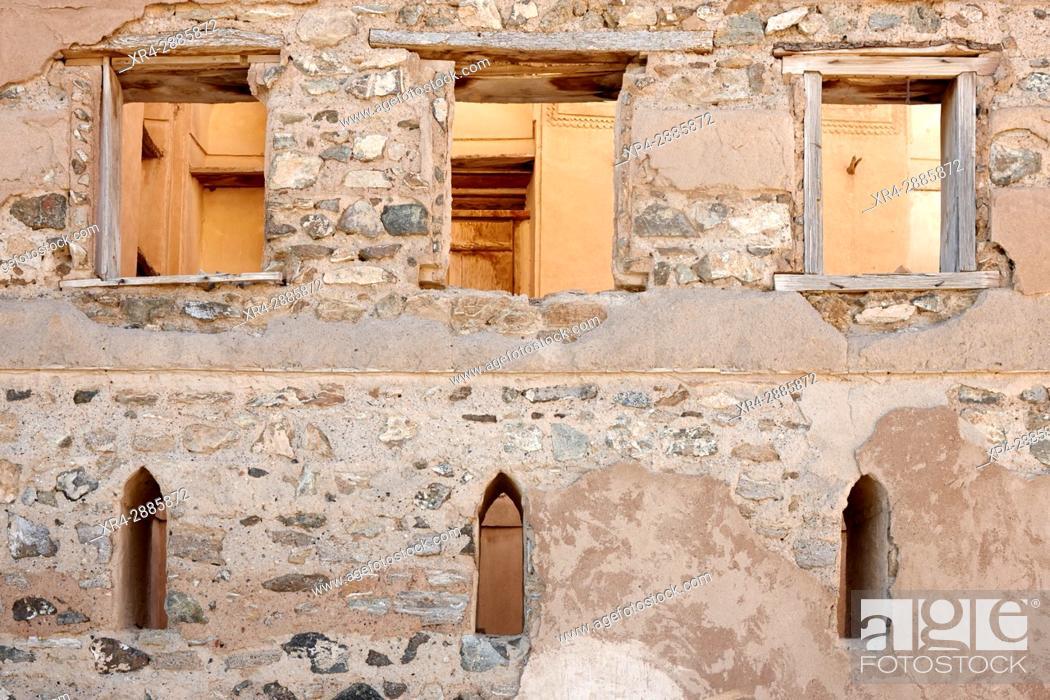 Stock Photo: Ancient architecture. Ibra, Ash Sharqiyah, Sultanate of Oman.