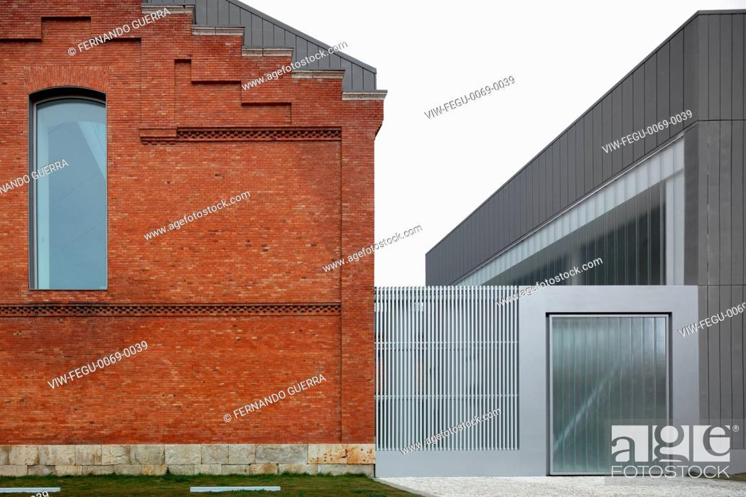 Civic centre in palencia palencia spain architect exit