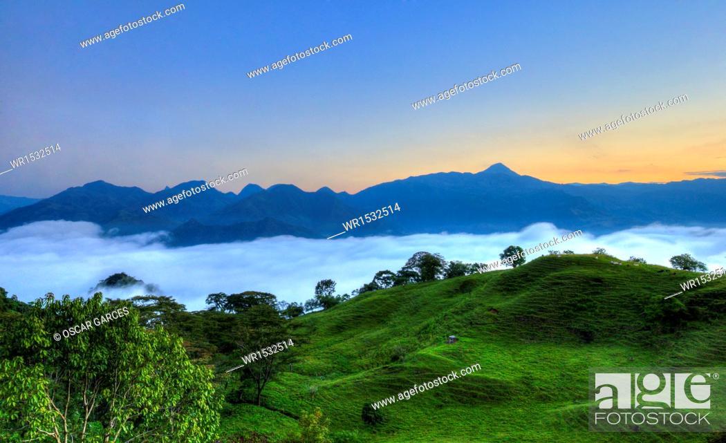 Imagen: Landscape of Southwestern Antioquia, Antioquia, Colombia.