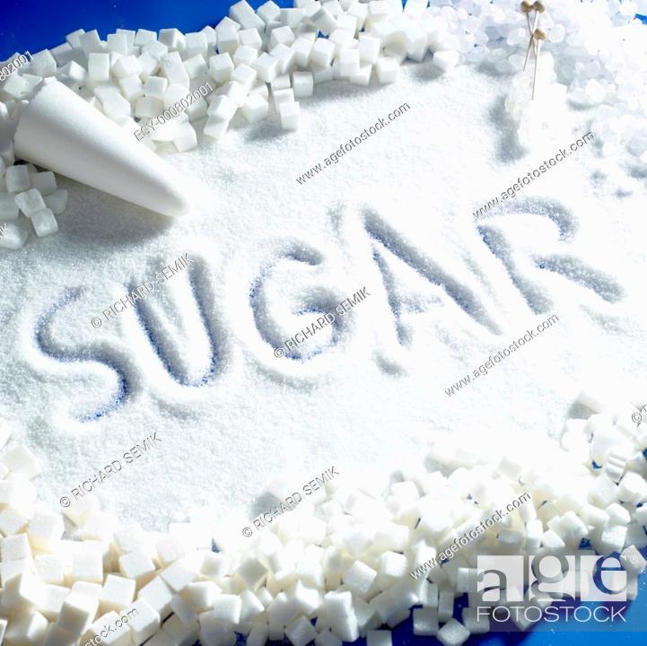 Stock Photo: sugar still life.