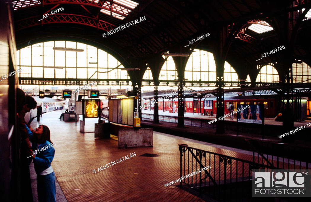 Stock Photo: Central Station, Copenhagen, Denmark.