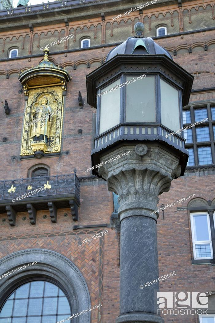 Imagen: City Hall, Copenhagen; Denmark.