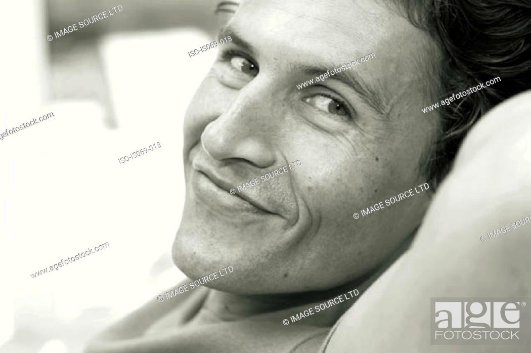 Stock Photo: Portrait of man.