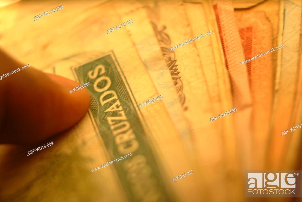 Stock Photo: Businesses Concepts II, old money, Brazil.