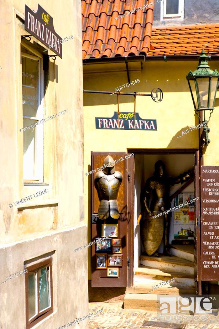 Stock Photo: Czech Republic - Prague - Hradcany Prague 1 District - The Royal Palace - The Golden Alley.