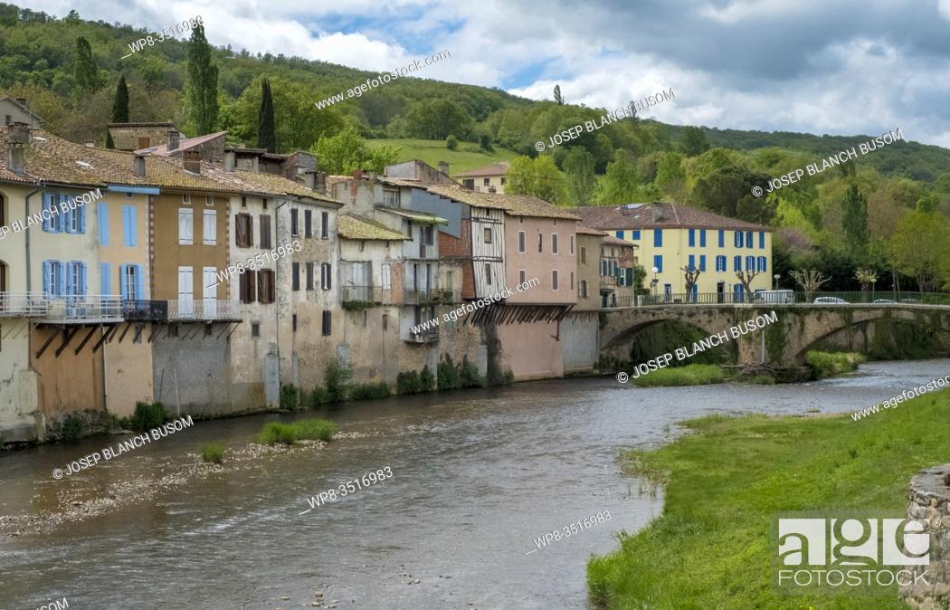 Stock Photo: France, Occitanie, Ariege, Les Bordes sur Arize.