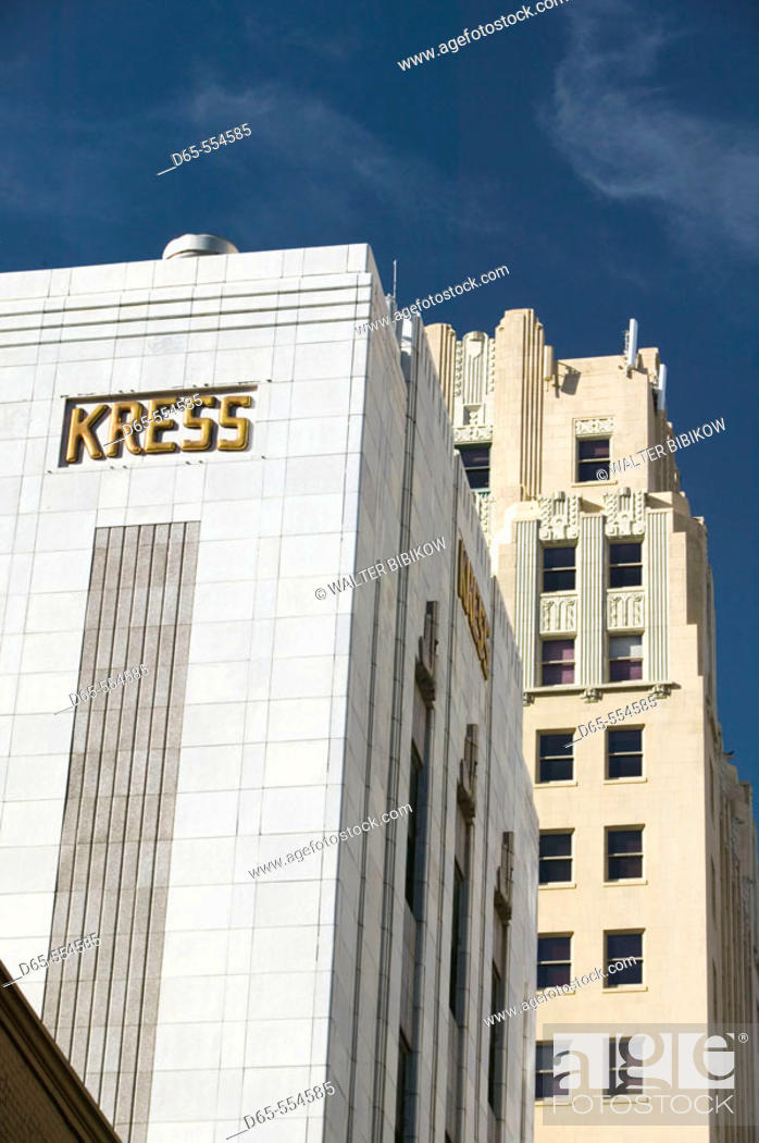 Downtown Old Kress Department Store Building Fort Worth Texas