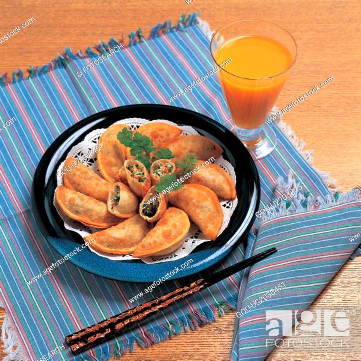 Stock Photo: dimsum, cuisine, mandu, chinese cuisine, chinese food, food.