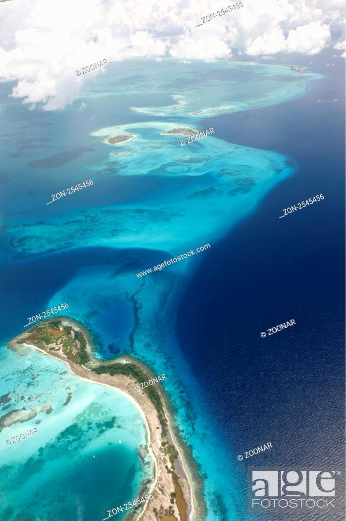 Suedamerika Karibik Venezuela Los Roques Insel Atoll Archipfel