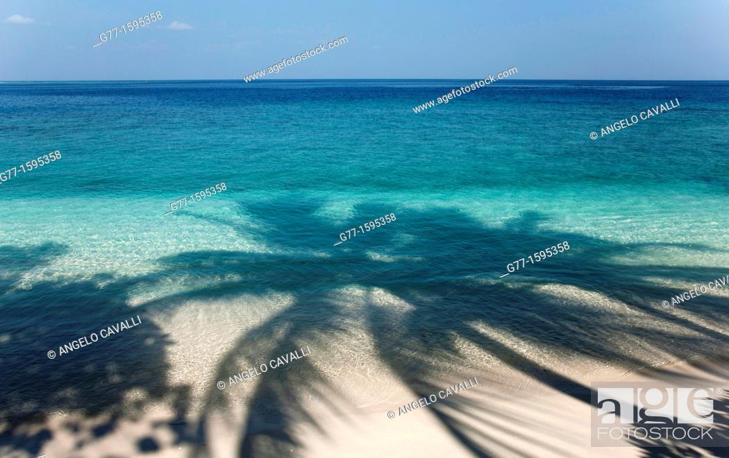Stock Photo: Maldives Islands  Ari Atoll.