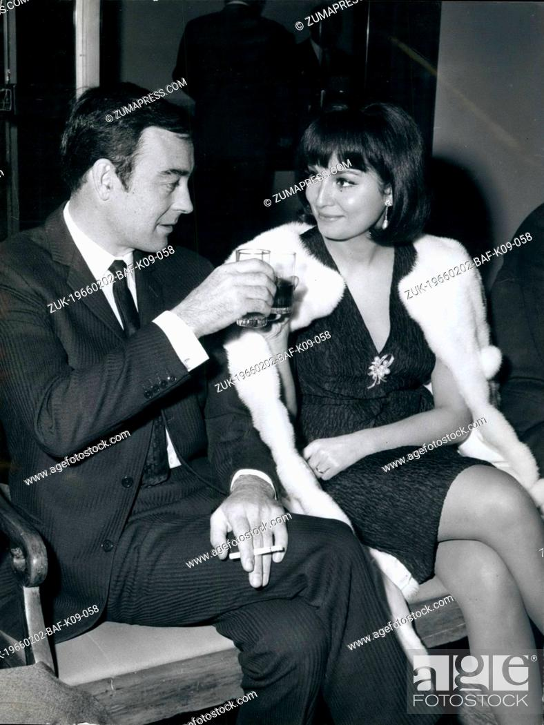 Imagen: Feb. 02, 1966 - The Stars of the film ' The Switch in Love' held a press conference before the begin of the film. The stars are Rosanna SCHIAFFINO and Richard.