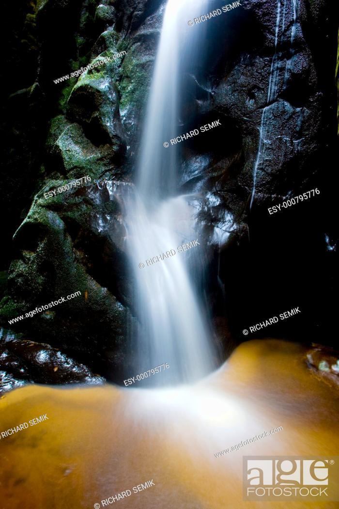 Stock Photo: Teplice-Adrspach Rocks, Czech Republic.