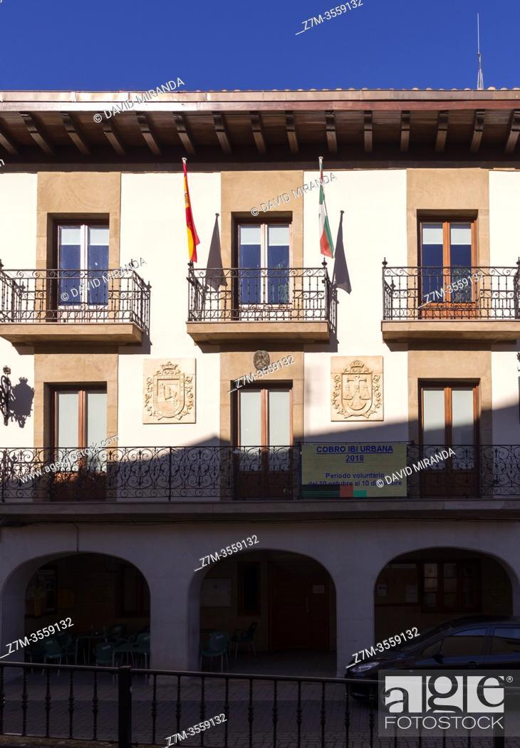 Imagen: Ayuntamiento de Santa Cruz de Campezo. Ã. lava. País Vasco. España.
