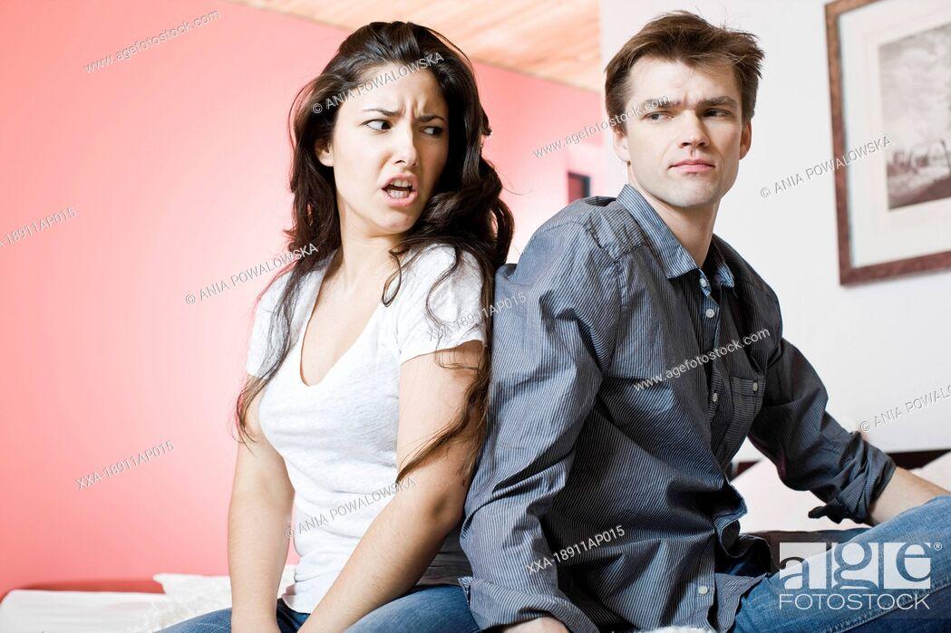 Imagen: Couple arguing.