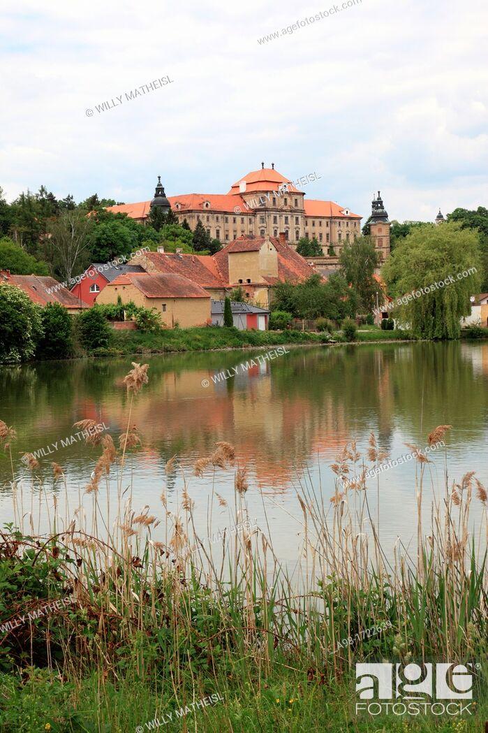Stock Photo: Chotesov Abbey Czech: Klášter Chotešov, German: Kloster Chotieschau is a former Premonstratensian nunnery in Chotesov, about 18 kilometres southwest of Pilsen.