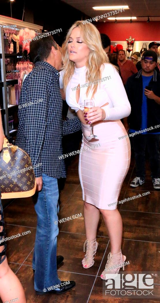 Photo De Stock The Grand Opening Of Larry Flynts Hustler Club Featuring Alexis Texas