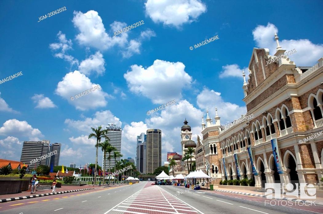 Photo de stock: Malaysia, Kuala Lumpur, Merdeka Square.