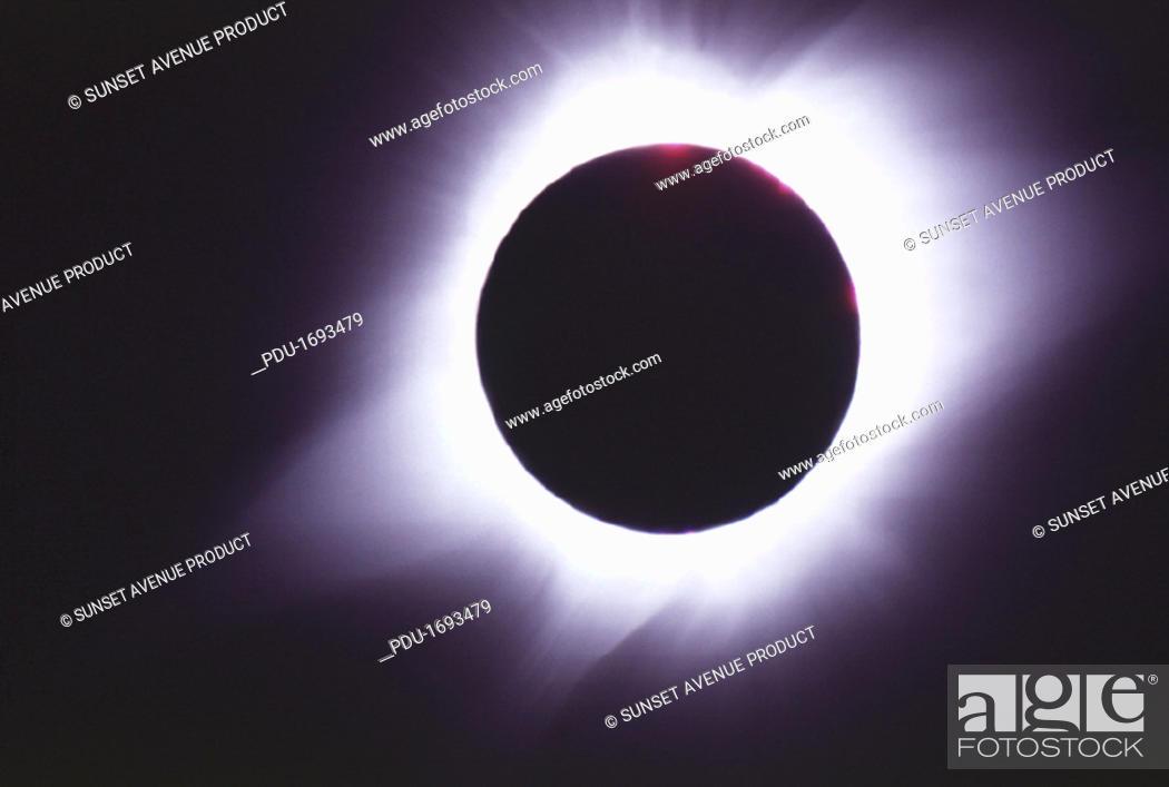 Stock Photo: Eclipse.