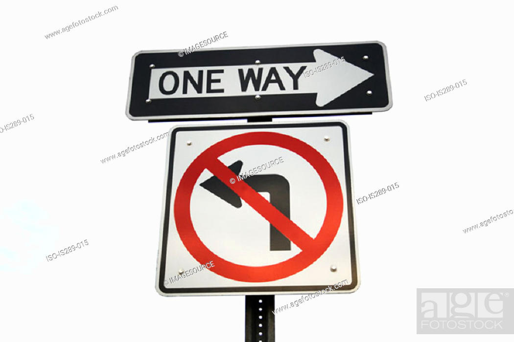 Stock Photo: Road signs.