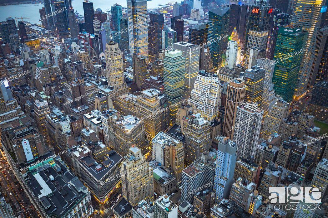 Imagen: USA, New York City, Midtown Mahattan.