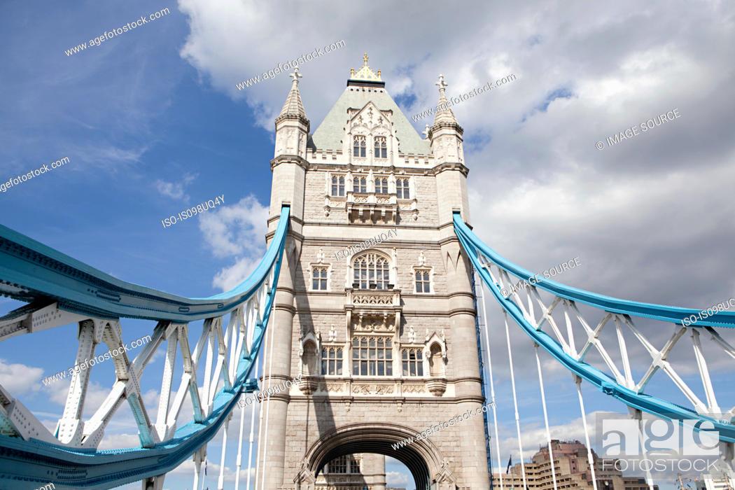 Stock Photo: Tower bridge, London.