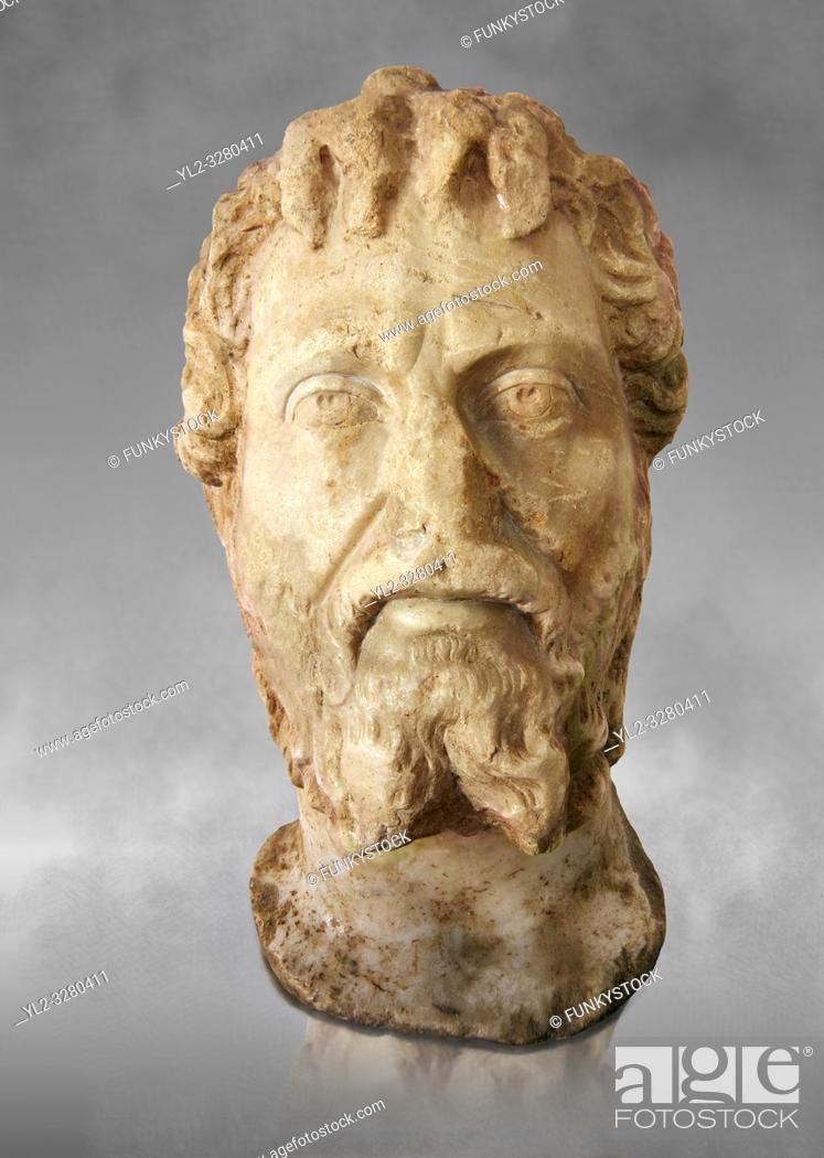 Imagen: Roman sculpture of the Emperor Septime Severe, excavated from Choud El Battan sculpted circa 193-211AD. The Bardo National Museum, Tunis, Inv No: C.