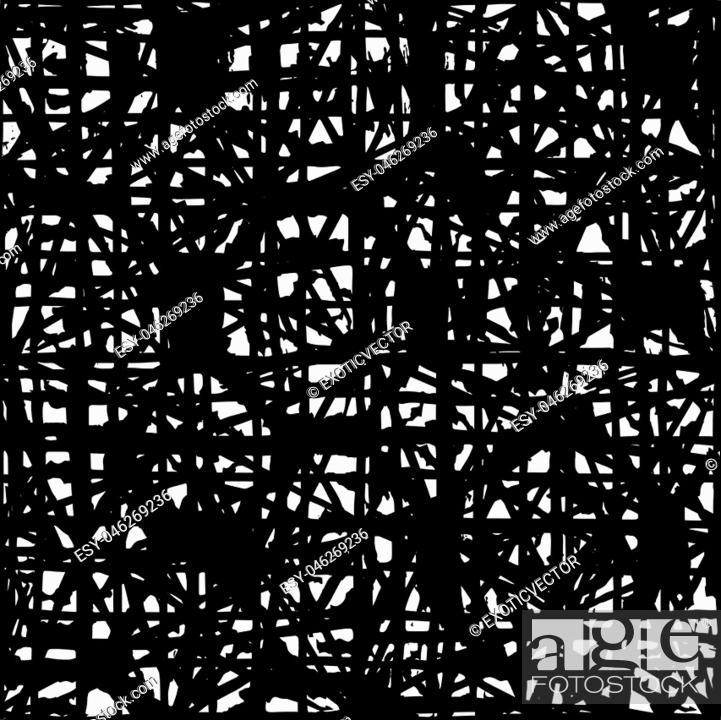 Vector: Endless watercolor texture vector. Indigo tie dye seamless pattern. Natural tiles. Japan cotton background. Batik bed vector texture.