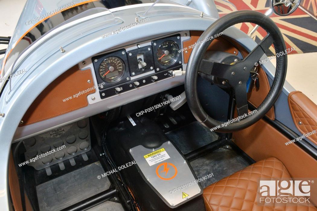 British Car Company Morgan Unveiled A Prototype Of The Morgan 3