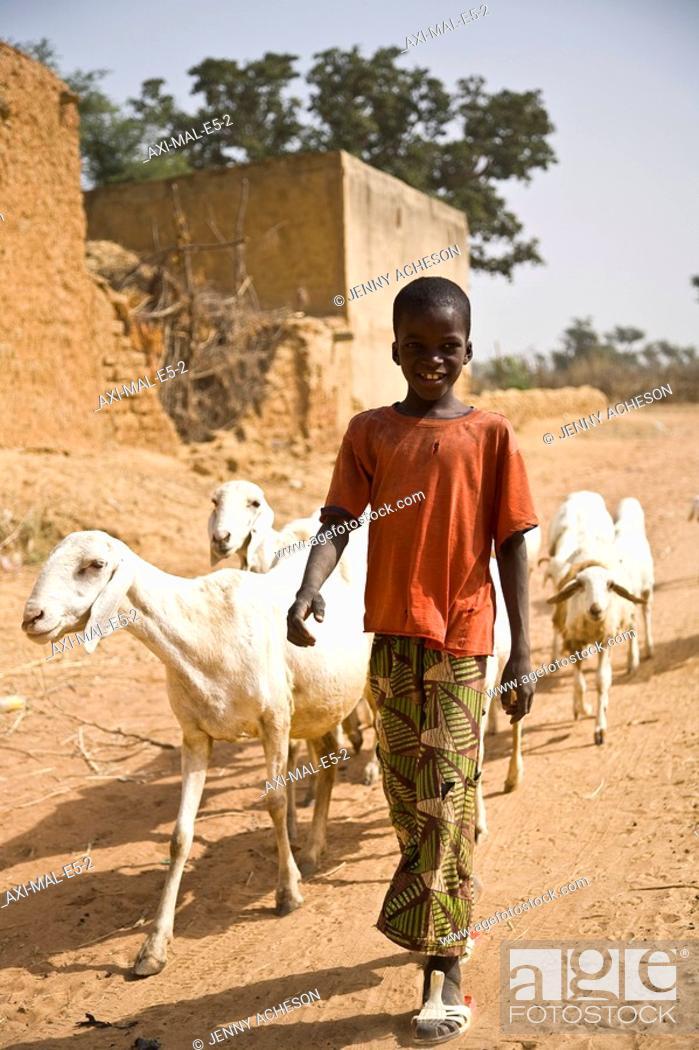 Stock Photo: Segoukoro, Segou, Mali.