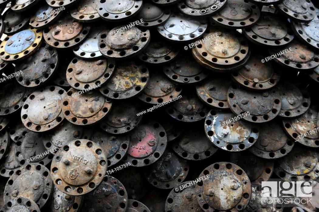 Stock Photo: Spare Parts for Cars.