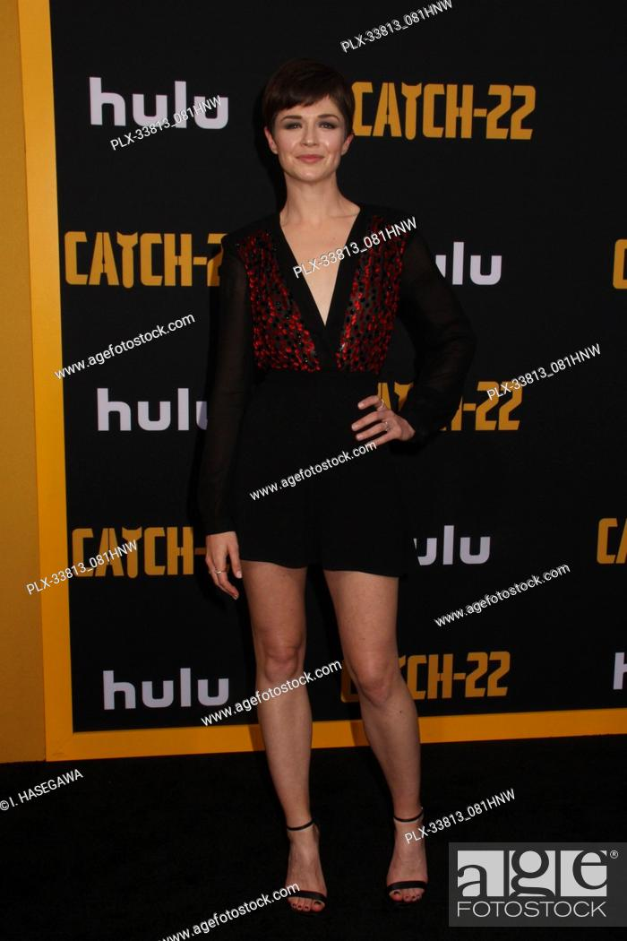 """Stock Photo: Michelle Alexander 05/07/2019 The U.S. Premiere of Hulu's """"""""CATCH-22"""""""" held at The TCL Chinese Theatre in Los Angeles, CA Photo by I."""