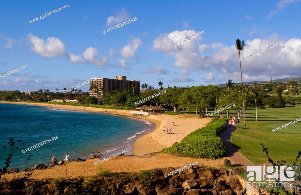 Stock Photo: beach golf water sport beauty beautiful resort.