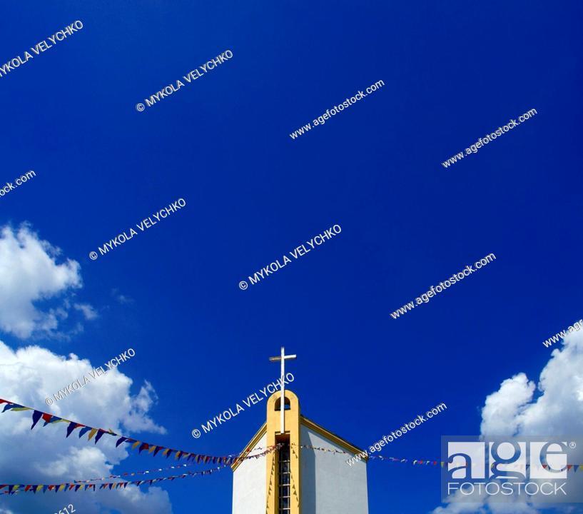 Stock Photo: Catholic church a.