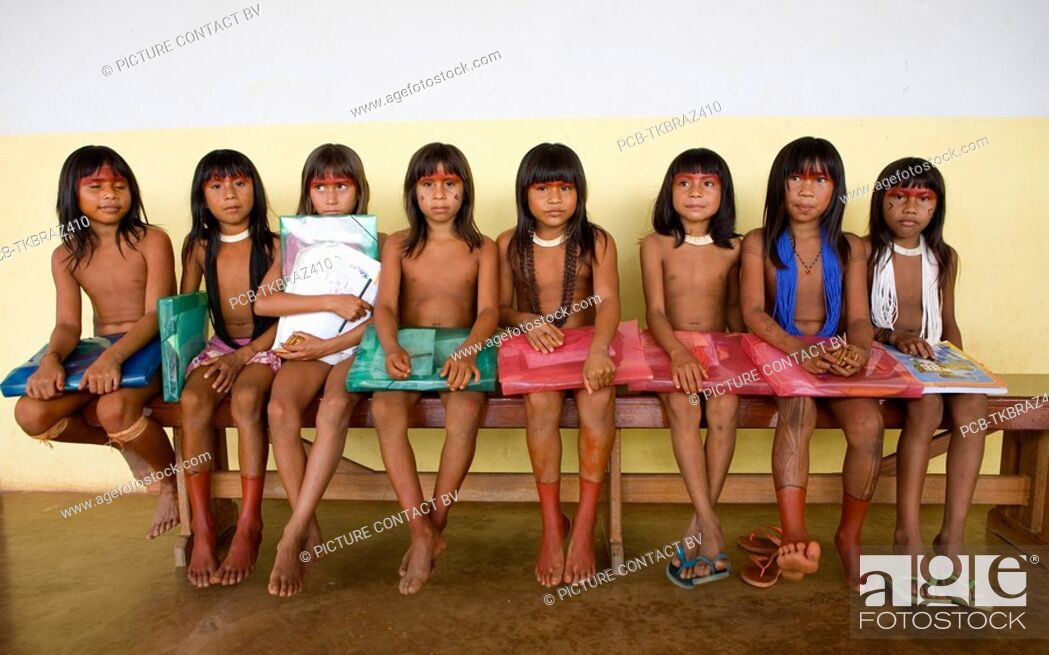 xingu girl child An indigenous people's story shows that health is more than ...