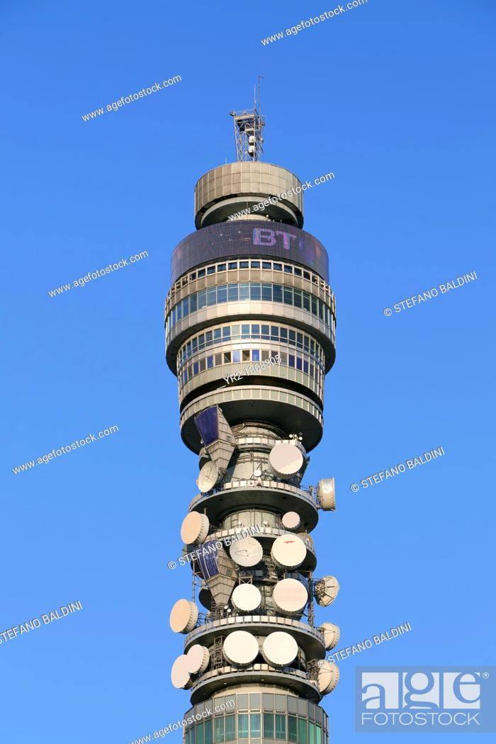 Imagen: BT tower, London, UK.