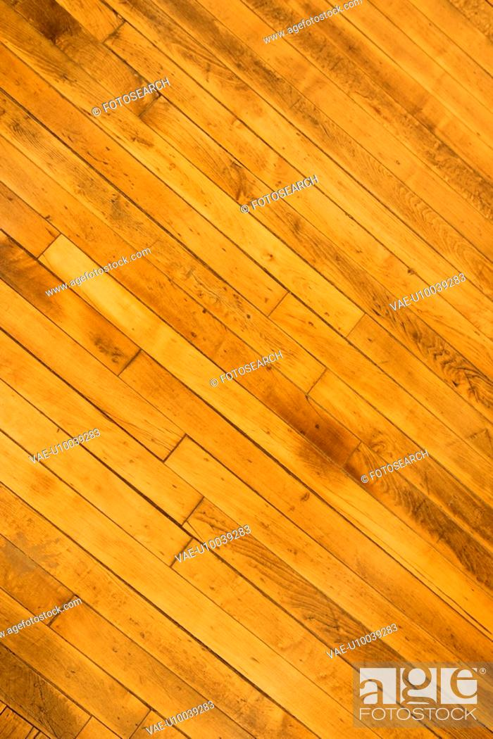 Stock Photo: Close-up of hardwood floor.