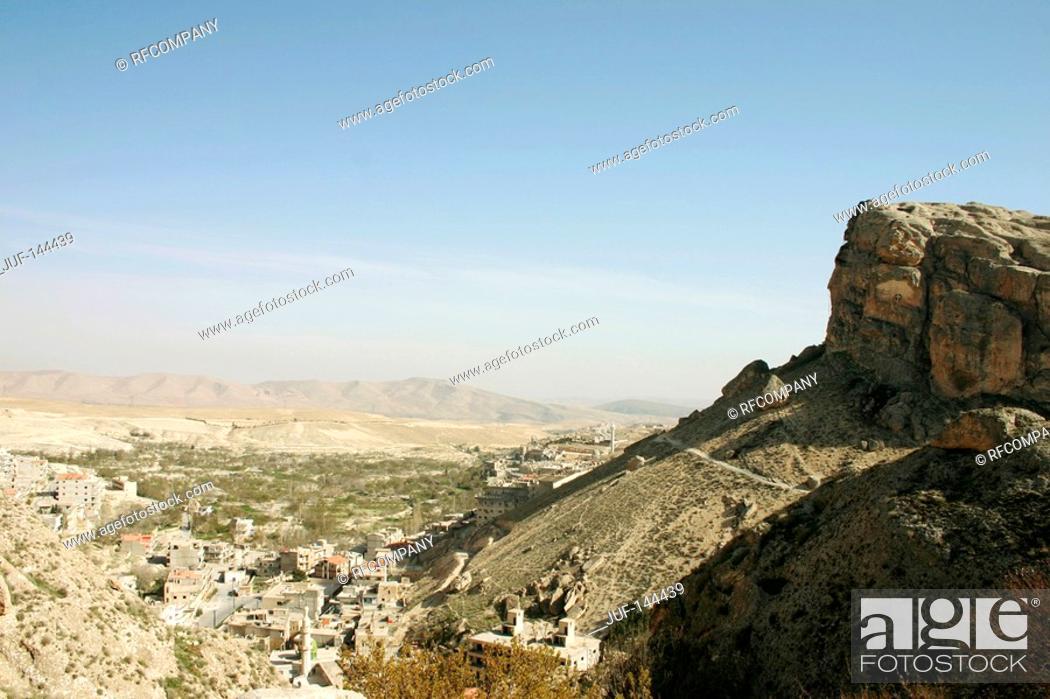 Stock Photo: Syria - Maloula.