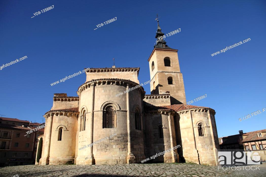 Stock Photo: Church, Segovia, Spain.