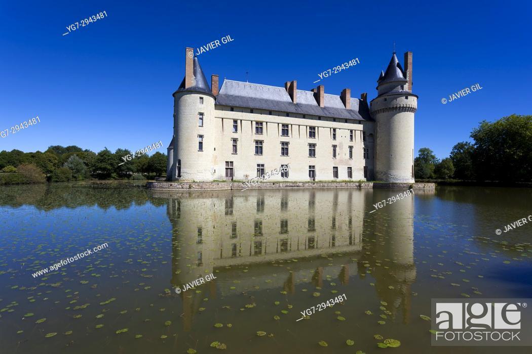 Stock Photo: Plessis-Bourré castle, Pays de la Loire, Loire Valley, France.