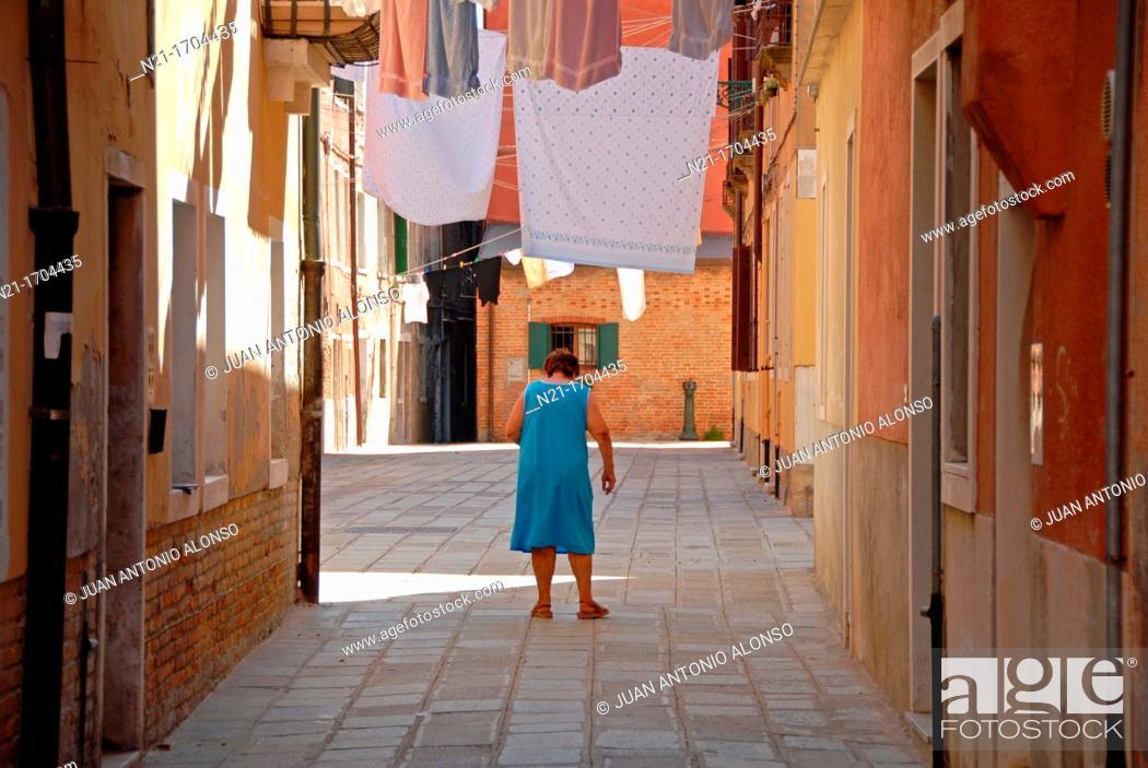 Stock Photo: Castello, Venice, Veneto, Italy, Europe.