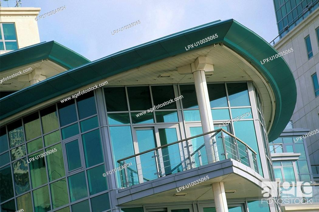 Stock Photo: Detail of new residential development.