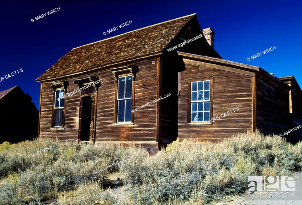 Stock Photo: Kirkwood House in Bodie Ghost Town.